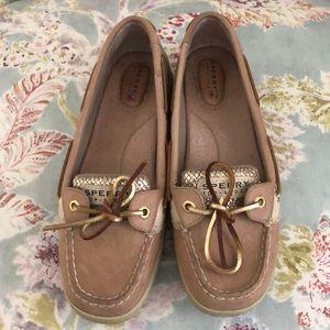 Sperry Top-Sider Tan Women's boat shoe